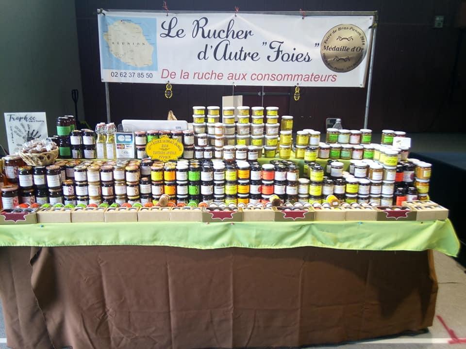 pot de miel à la Réunion 974 | Le Rucher d'Autre Foies