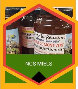 nos miel à la Réunion 974 | Le Rucher d'Autre Foies