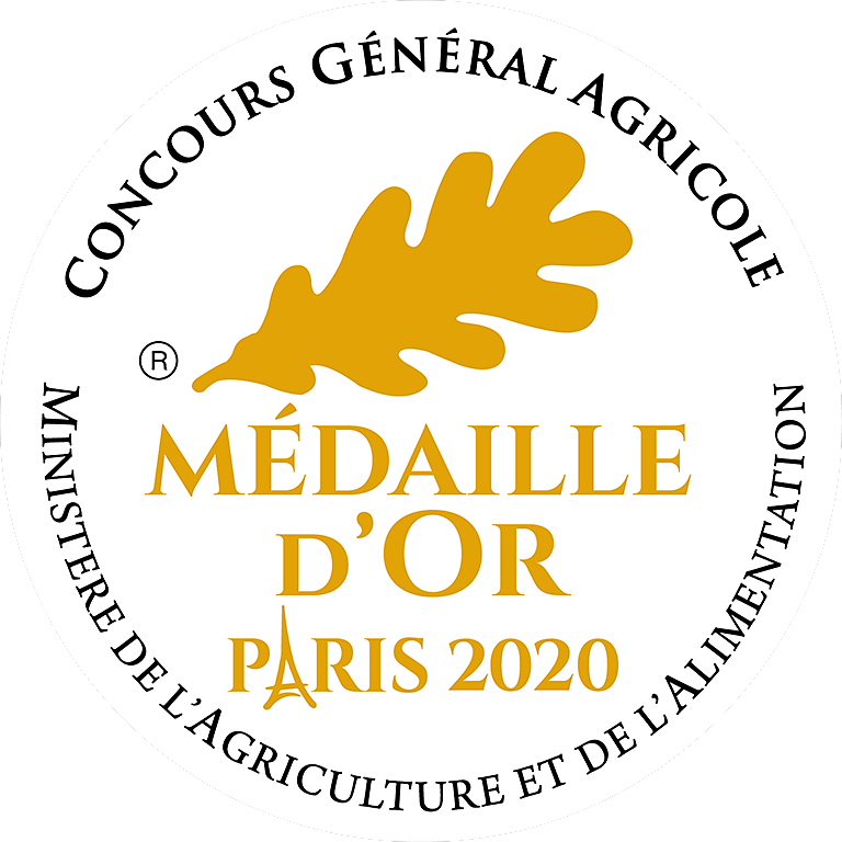 Medaille Or 2020 RVB
